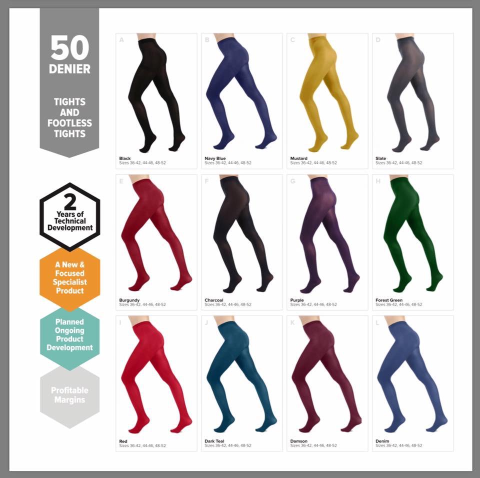 8d7e58a3b56 Farvede strømpebukser - Pamela Mann strømpebukser i mange farver ...