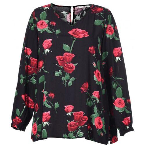 studio bluse, studio plus size tøj