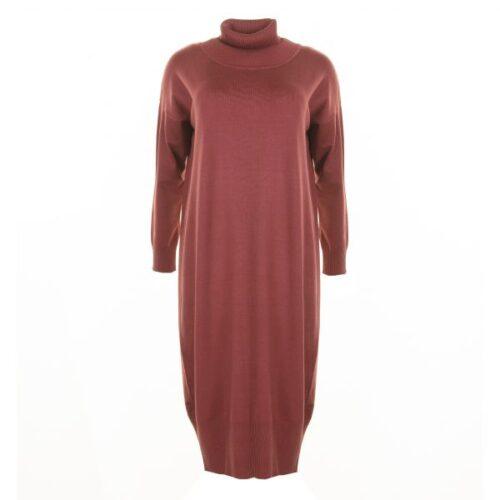 lang kjole med ærmer