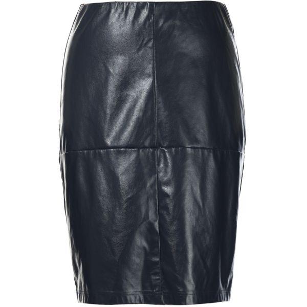 ed7776a71d96 Imiteret læder nederdel - STUDIO læder nederdel - Køb nederdel online