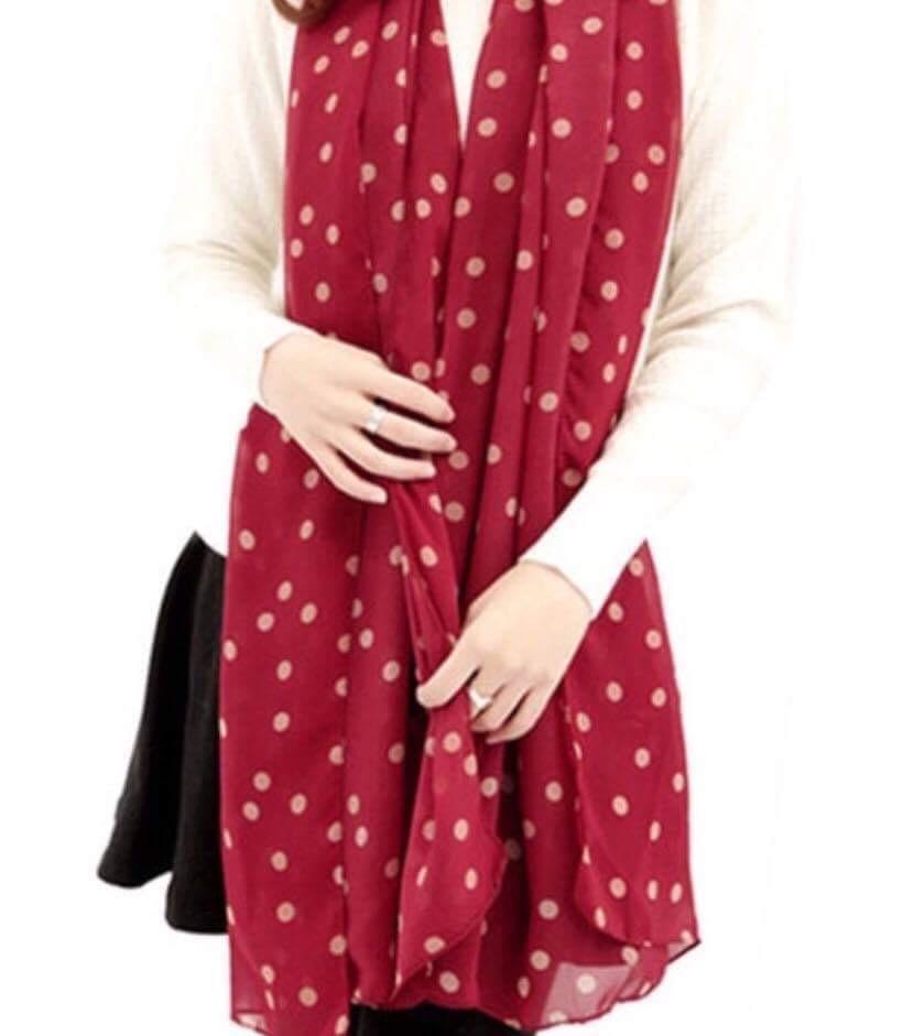 røde tørklæder