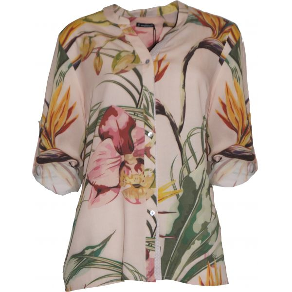 Med Knapper Blomstret Smart Skjorte Soulmate Super Print w0EtacqU