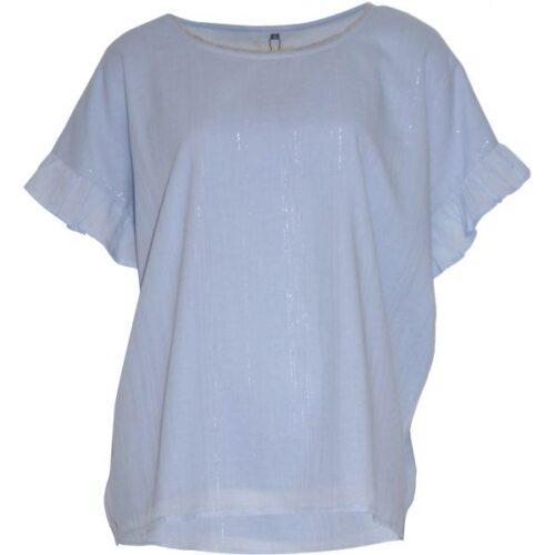 Soulmate lyseblå bluse