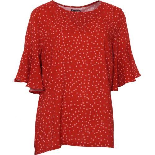Rød bluse Soulmate