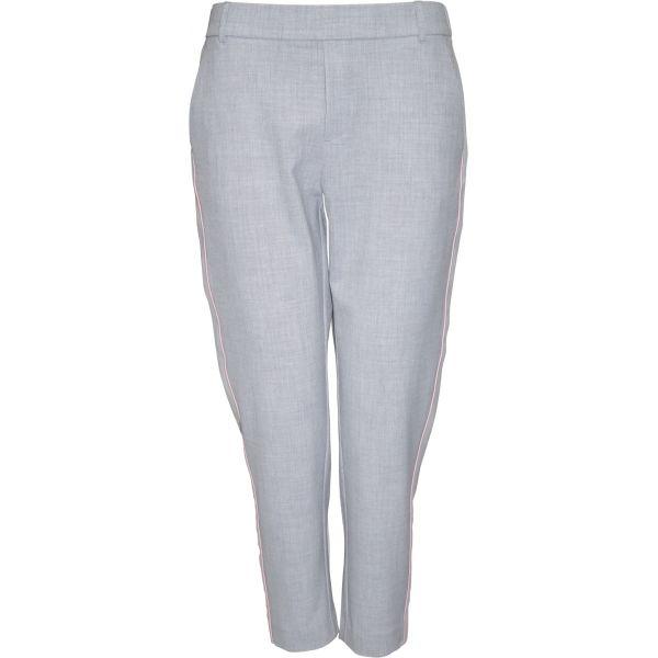 Fin Bukser til kvinder | Smarte Soulmate bukser i en grålig farve QD-31