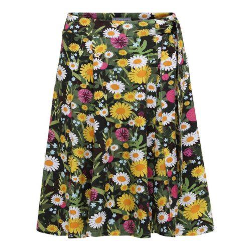 nederdel med blomster