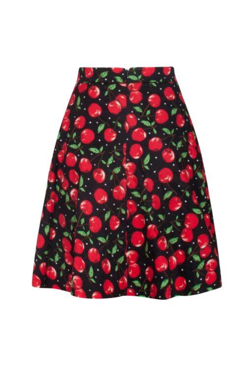 smashed lemon nederdel med kirsebær