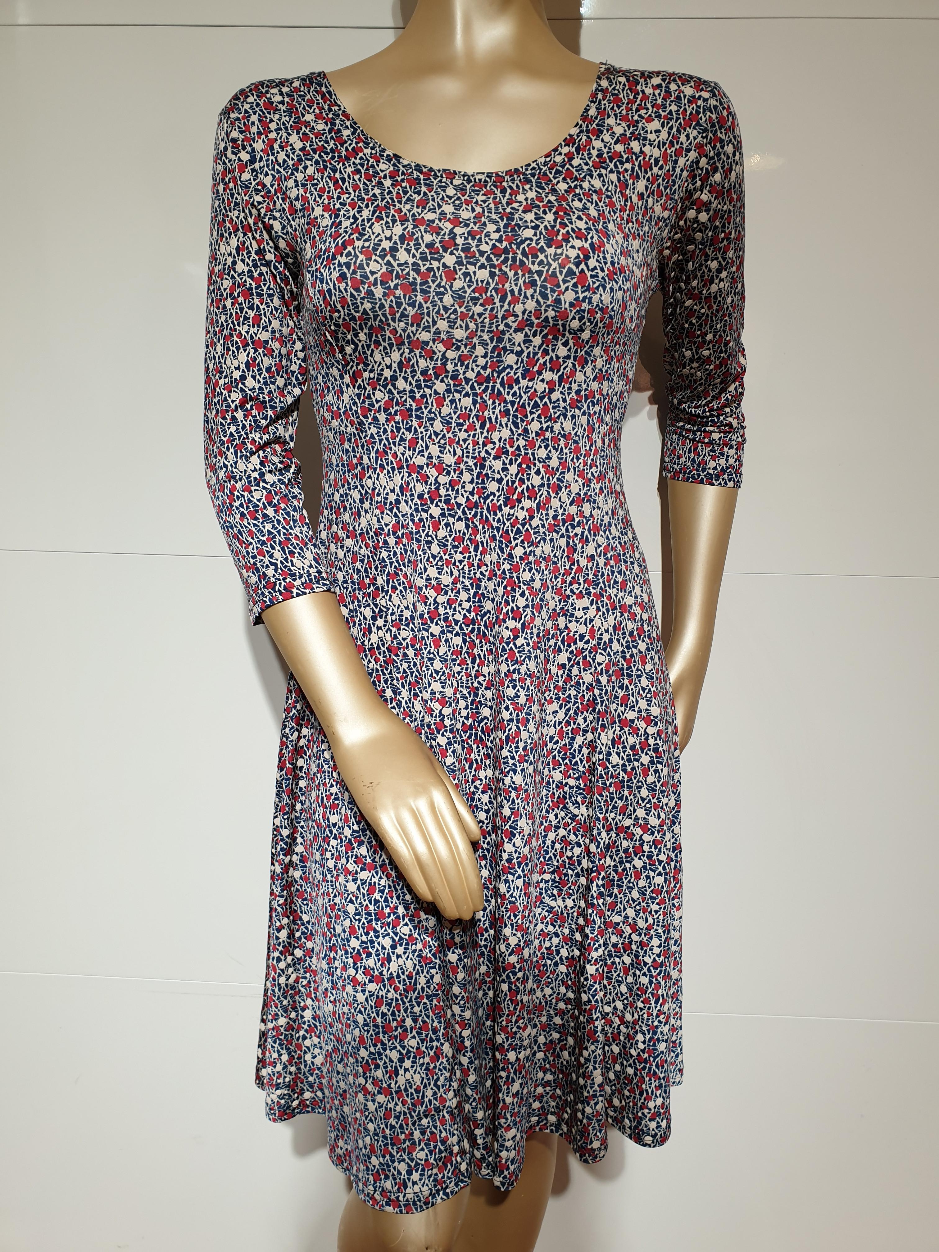 c82d0d75 Smashed Lemon rød sommerkjole   Rummelig kjole   Flot og let kjole