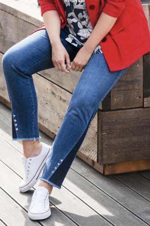 KjBrand jeans med nitter