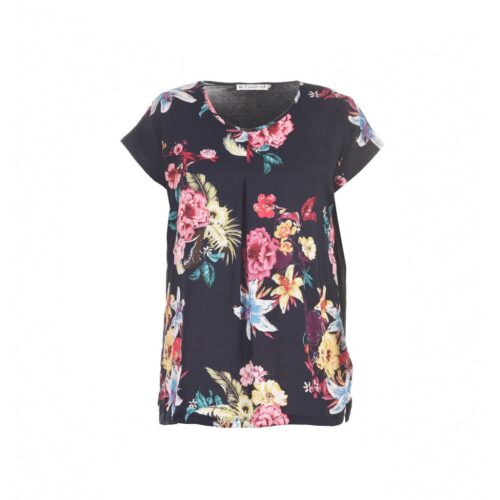Studio top med flower print