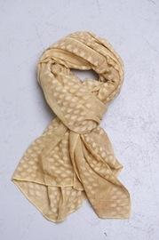 vaflet tørklæde gul