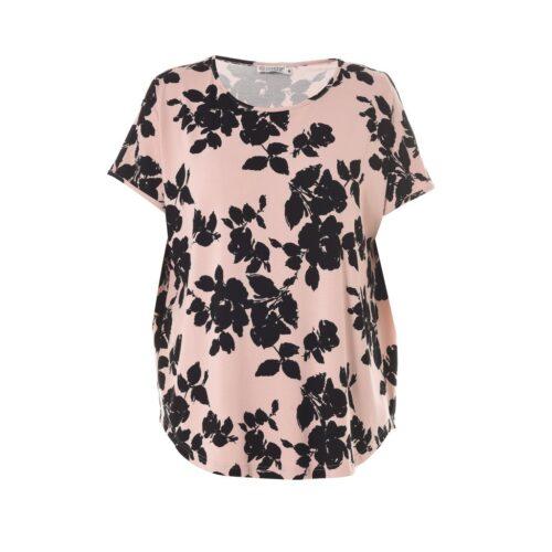 Gozzip rosa printet t-shirt