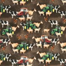 økologisk børnetøj med dyreprint
