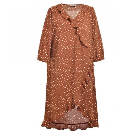 efterårsbrun gozzip kjole
