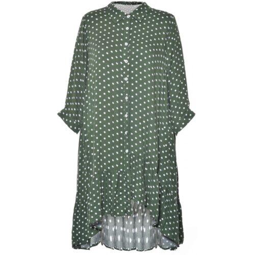 Gozzip tunika med prikker evergreen