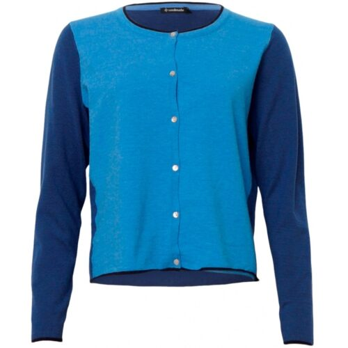 Soulmate cardigan bright blue sky