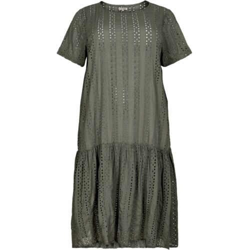 Gozzip kjole army grøn
