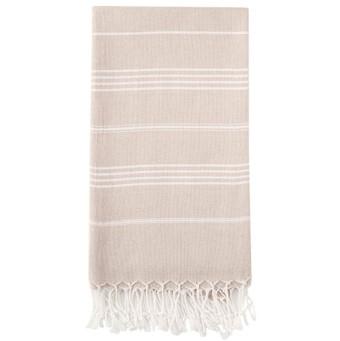 Sand farvet Hammam badehåndklæde