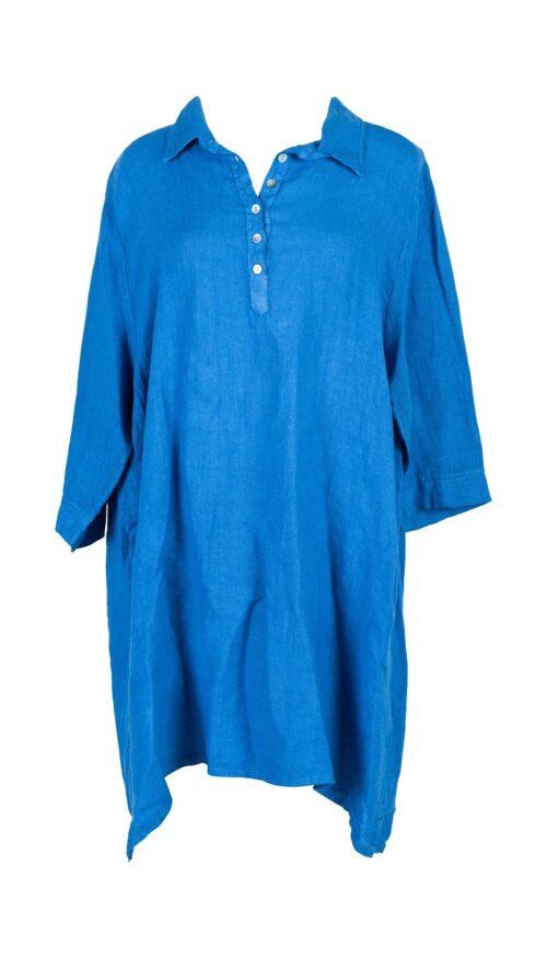 stor blue jeans hør skjorte