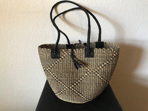 ORB Ladies handbag flettet kurv