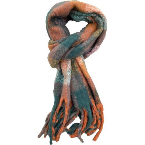 multifarvet tørklæde