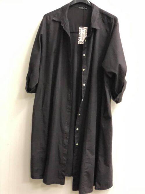 Skjortekjole med knapper og lommer