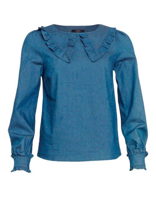 Blå Soulmate bluse