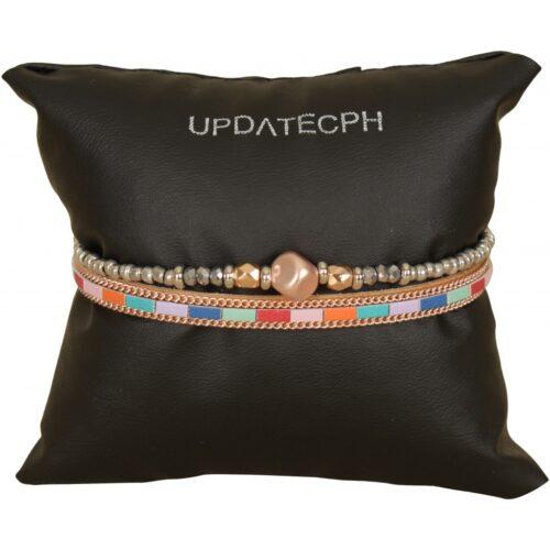 Elegante armbånd i flere farver