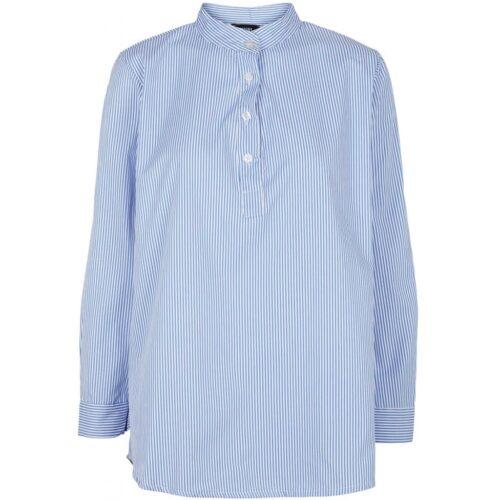 Drys blåstribet skjorte