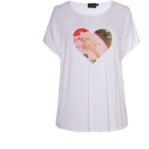 Gitte T-shirt med print