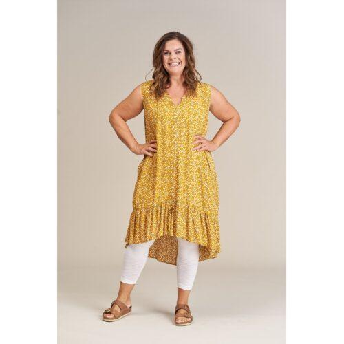 Gozzip tunika i gule farver