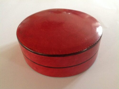 Opbevaringsæsker rød