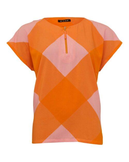 Micha bluse orange