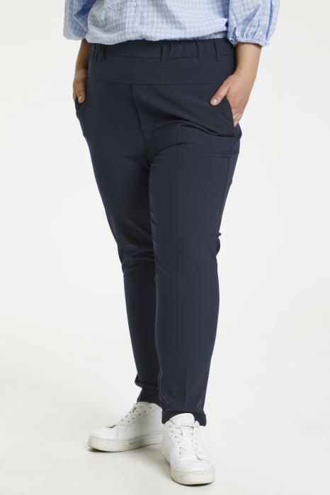 Kaffe curve Naja bukser blå