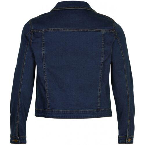 Gozzip denim jakke med knapper