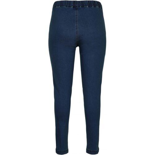 Gozzip casual blå denim leggings